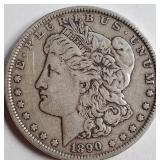 1890 - MORGAN SILVER DOLLAR (15)