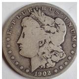 """1902 """"O"""" - MORGAN SILVER DOLLAR (16)"""
