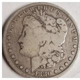 1880 - MORGAN SILVER DOLLAR (21)