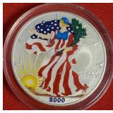 2000 - AMERICAN EAGLE SILVER DOLLAR (31)