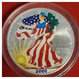 2000 - AMERICAN EAGLE SILVER DOLLAR (32)