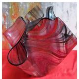 177 - INCREDIBLE BLOWN GLASS BOWL