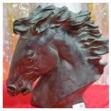 N - JAMES SPRATT HORSE HEAD SCULPTURE