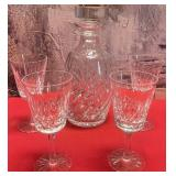777 - WATERFORD SIGNED CRYSTAL DECANTER SET