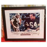 N - FRAMED 1967 NFL CHAMPIONSHIP PHOTO