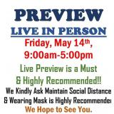 PREVIEW LIVE IN PERSON
