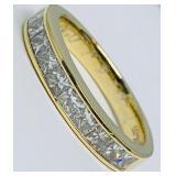 18KT YELLOW GOLD 2.50CTS DIAMOND RING