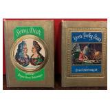 N - LOT OF 2 ANTIQUE GOLDEN THOUGHTS BOOKS