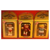 (B4) - 3 CABBAGE PATCH KIDS POSEABLE FIGURES (B4)