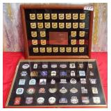 177 - 1992 US OLYMPIC TEAM PINS IN FRAME