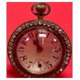 777 - RARE ANTIQUE NEW HAVEN PAPERWEIGHT CLOCK