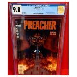N - PREACHER COLLECTOR COMIC BOOK