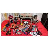 777 - LARGE LOT OF ACTION FIGURES & COLLECTIBLES