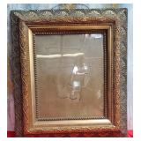 """177 - ORNATE PICTURE FRAME 34""""X31"""""""