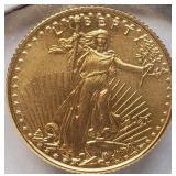2021 - 5 DOLLARS GOLD COIN