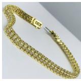 14KT YELLOW GOLD 2.00CTS ROLEX STYLE DIAMOND