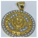18KT YELLOW GOLD 1.92CTS DIAMOND PENDANT 28.00