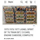 777 - VINTAGE LIONEL MODEL TRAIN CARS