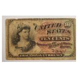UNITED STATES .10 CENTS FRACTIONAL CURRENCY (82)