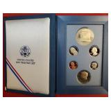 1987 UNITED STATES PRESTIGE COIN SET (93)