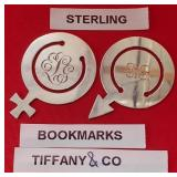63 - TIFFANY & CO STERLING SILVER BOOKMARKS