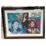 63 - SIGNED & NUMBERED ART OF EDYIE GORME