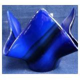 62 - SIGNED S.L. WILSON 2021 BLUE BOWL