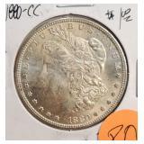(80) - 1880 MORGAN DOLLAR