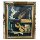 63 - SIGNED WALTER BENOLDI FRAMED ART