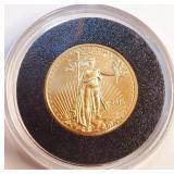 1/10oz FINE GOLD - 5 DOLLARS (28)