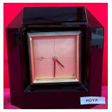 63 - GORGEOUS HOYA TABLE CLOCK