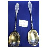63 - STERLING SILVER 87G SPOONS