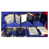 63 - LOT OF 5 DOUBLE PICTURE FRAMES
