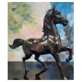11 - GORGEOUS HORSE STATUE 31 X 25