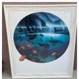 "N - FRAMED WYLAND ""ORCA JOURNEY"" LITHOGRAPH W/COA"