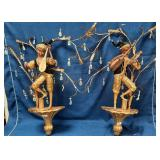 56 - BEAUTIFUL MUSICAL WALL SCONCES