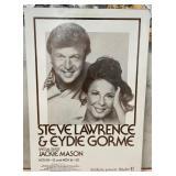 63 - STEVE LAWRENCE & EYDIE GORME POSTER