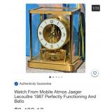 N - WATCH FROM MOBILE ATMOS JAEGER LECOUTURE