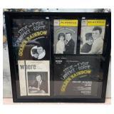 63 - FRAMED LAWRENCE & GORME MUSICAL