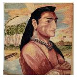 58 - AMERICAN INDIAN NEEDLEWORK ART