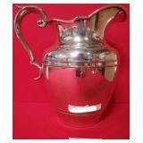 63 - STERRLING SILVER PITCHER - 620G