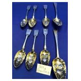 63 - LOT OF STERLING SILVER SPOONS  361G