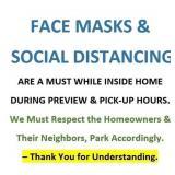 FACE MASKS & SOCIAL DISTANCING