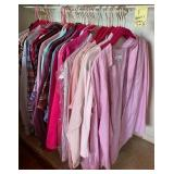 903 - LADIES BLOUSES SIZE MED & SM (F)