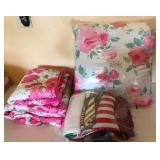 903 - BED LINENS & THROW BLANKET