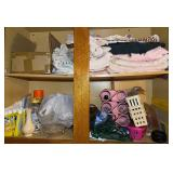 903 - CLEANERS, VASE, LINENS & MORE