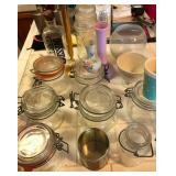903 - JARS, VASES & CONTAINERS