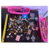 903 - PINS, KEY CHAINS & COLLECTIBLES