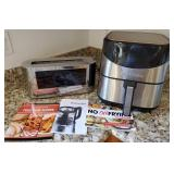 809 - COURMIA  AIR FRYER & RUSSELL HOBBS TOASTER