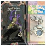809 - NEW CLIP WATCH & DRAGONFLY BOOKMARK